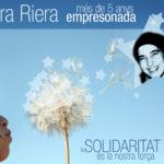 """Cartell """"Laura Riera, més de 5 anys empresonada"""""""