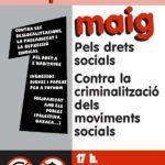 1 de Maig 2007 - Cartell convocatòria anticapitalista