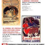 CARTELL CURSOS CGT ENSENYAMENT PONENT