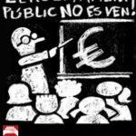 L'ensenyament públic no es ven