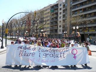 Manifestació a Tarragona