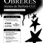 cartell jornades obreres a Barberà