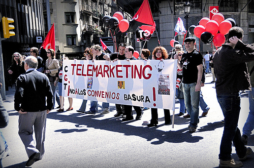 Mani 1 maig CGT Barcelona