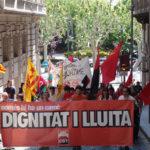 Mani 1 maig CGT Lleida