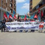 La CGT contra els transvasaments