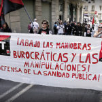 Mani 1 maig CGT Barcelona (sanitat)