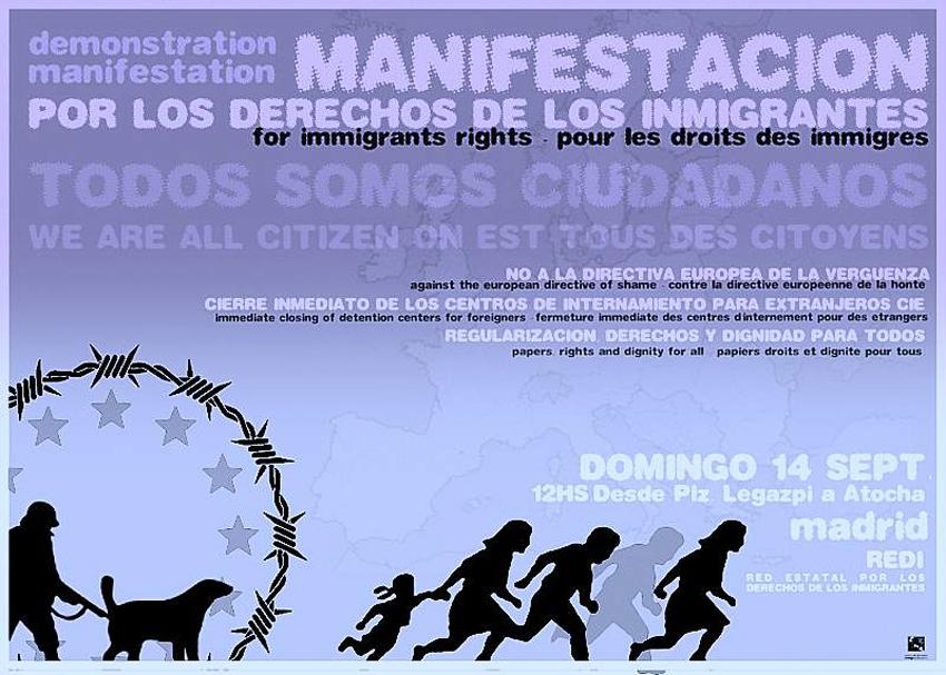 cartell manifestació