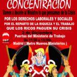 Cartell 3 desembre a Madrid