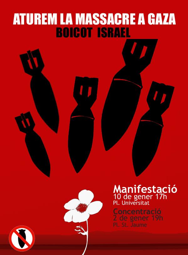 Cartell de la Manifestació del 10 de gener