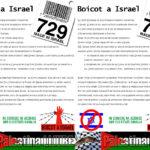octaveta Boicot a Israel