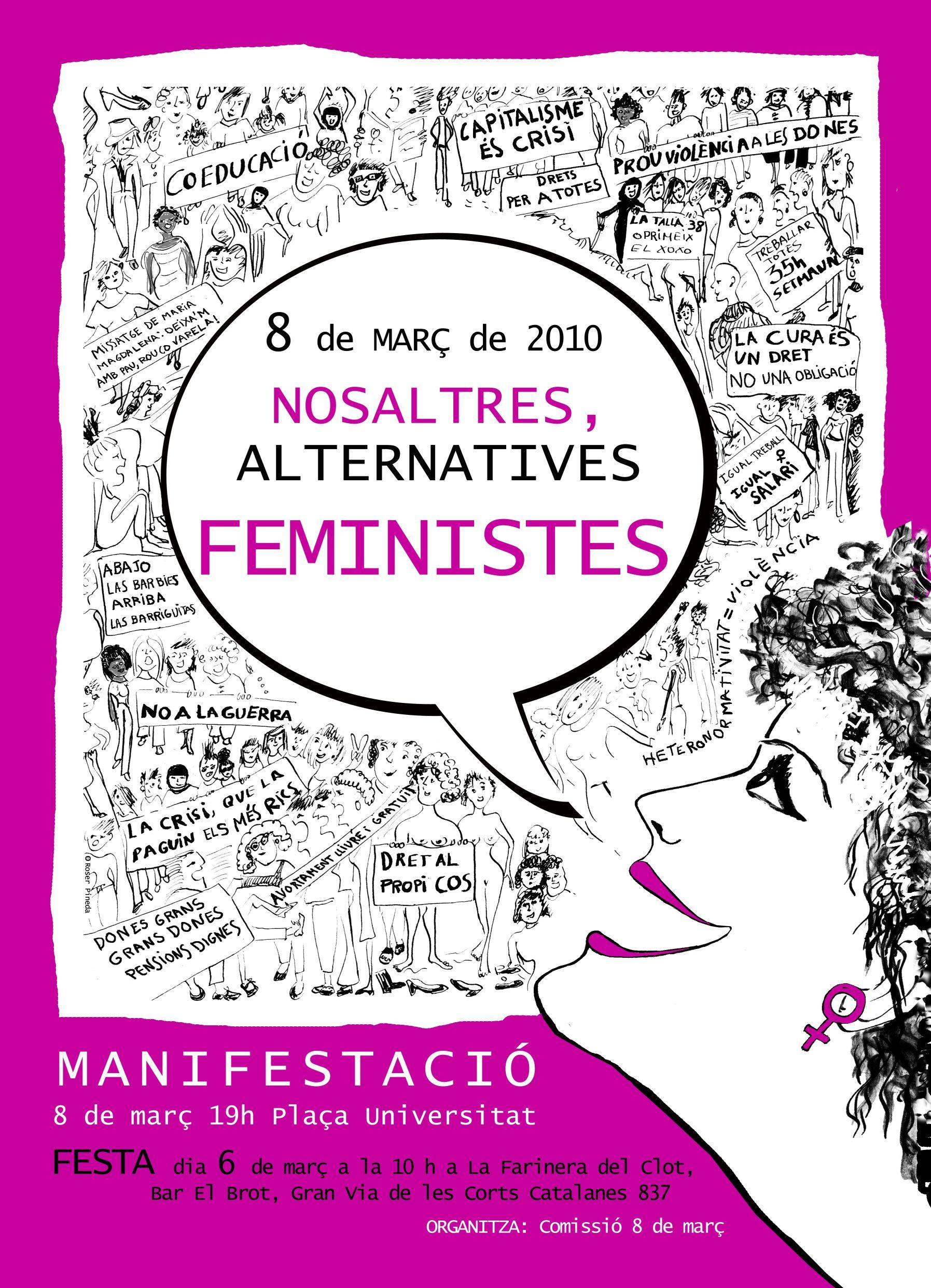 Cartell 8 març Barcelona