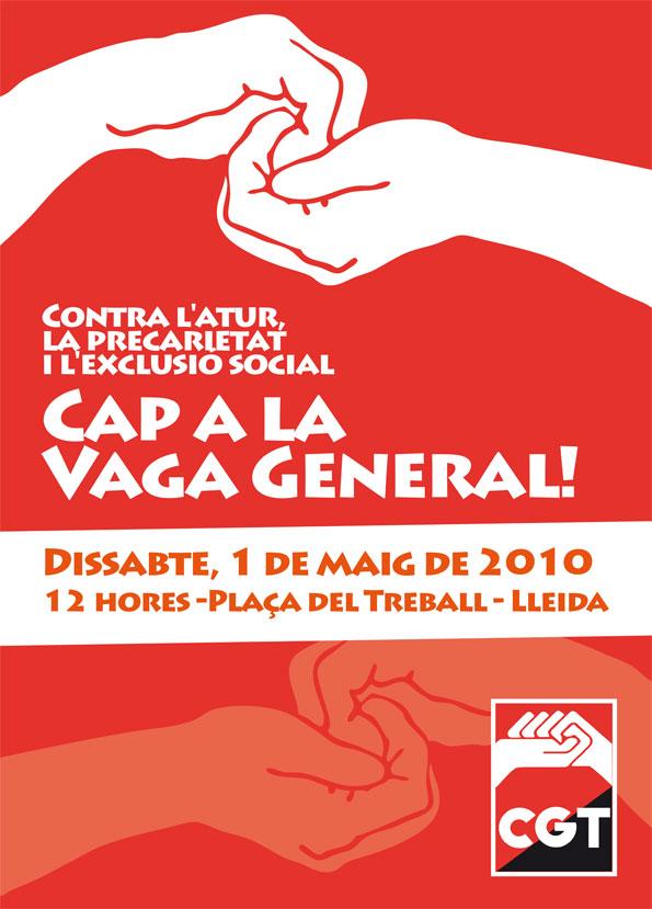 Cartell 1 Maig Lleida