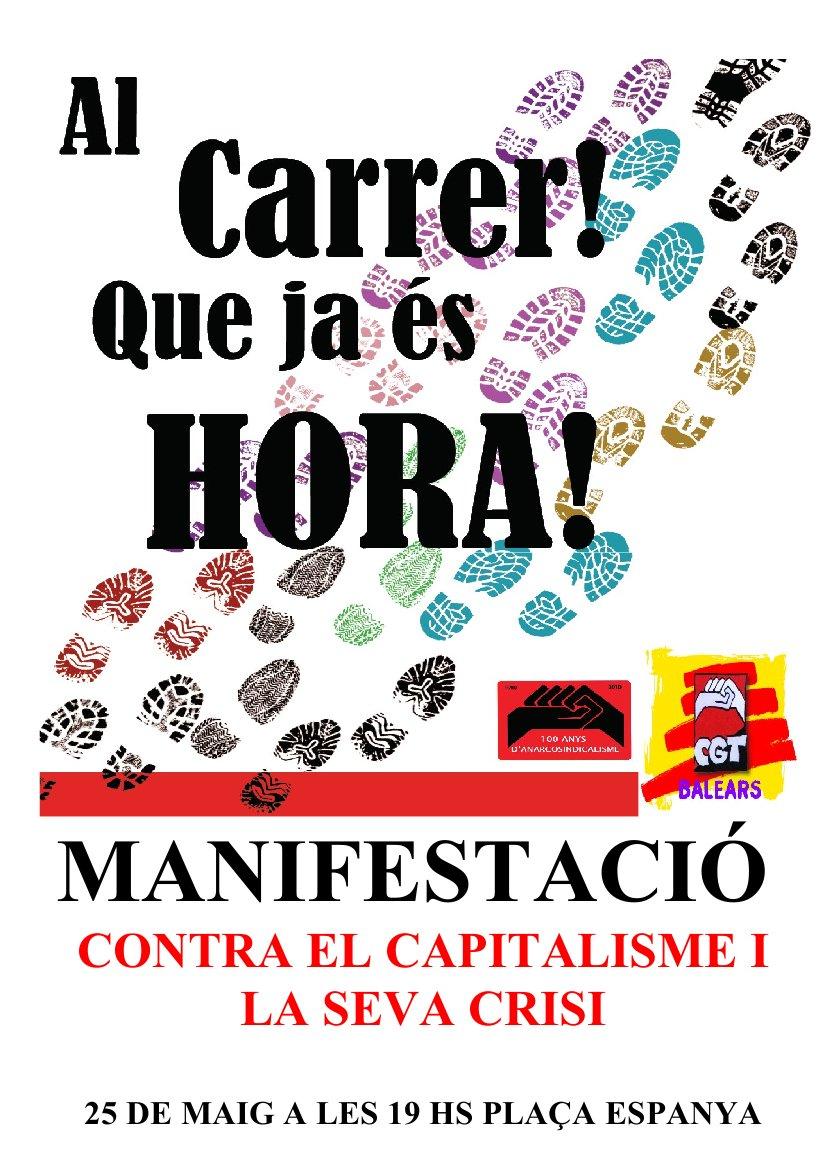 cartell mani Palma