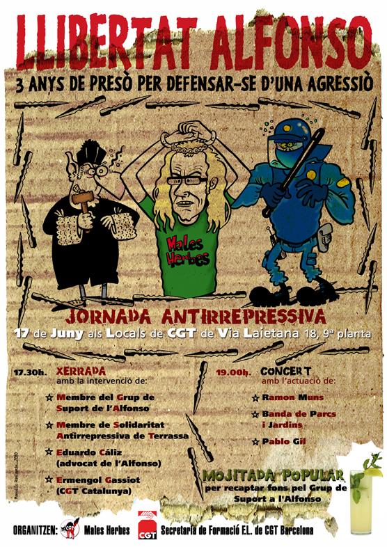 Cartell Jornada Antirepressiva