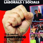 Cartell en català