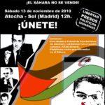 Cartell manifestació Madrid