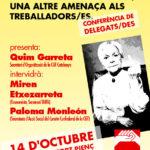 Cartell conferència pensions