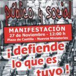 Cartell 27-N Madrid