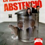 Cartell campanya abstenció