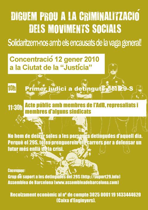 cartell 12 gener