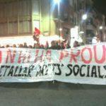 Manifestació Vic