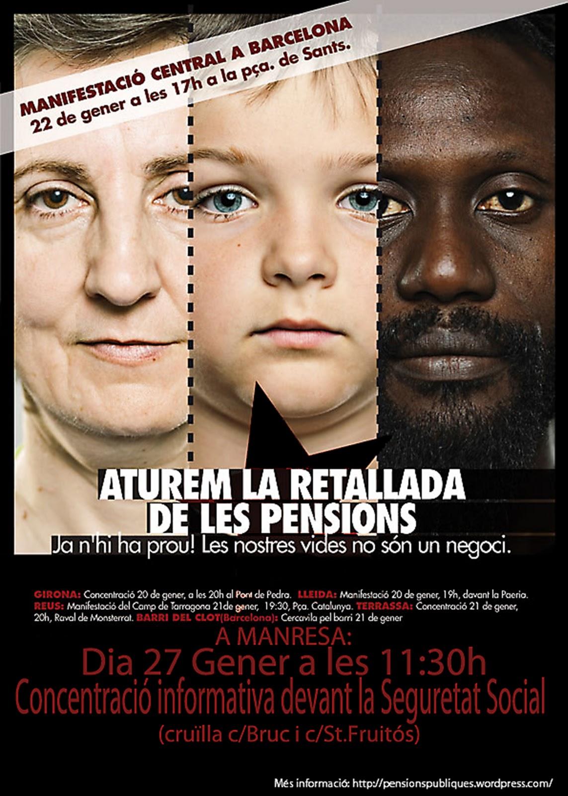 cartell 27 gener Manresa