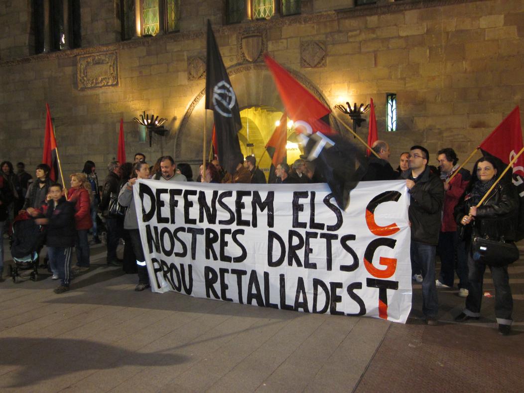 11-02-24 Concentració CGT Lleida