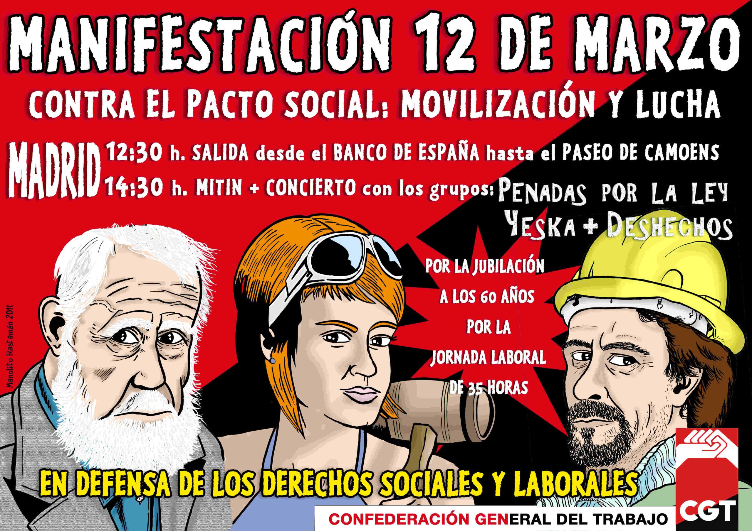 Cartell 12 març Madrid