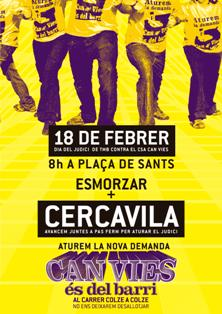 Cartell 18-F Can Vies