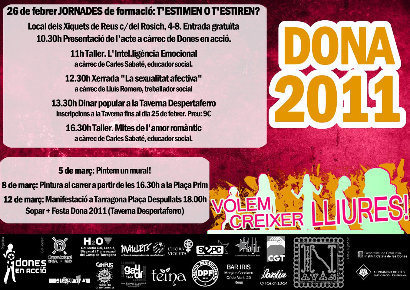 dona 2011 jornades