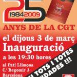 Cartell inauguració expo 25 anys Bcn - jpg Din A4