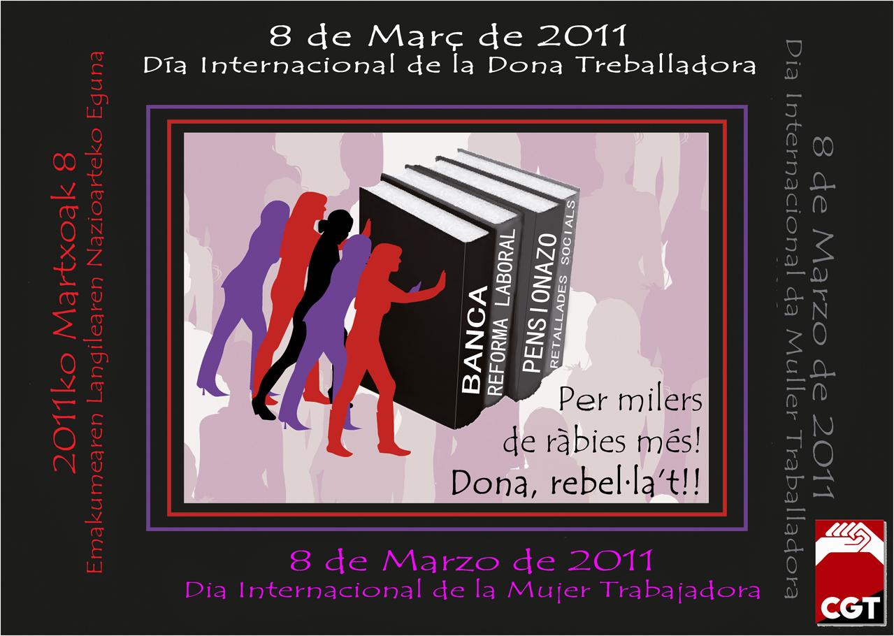 8 març CGT - cartell