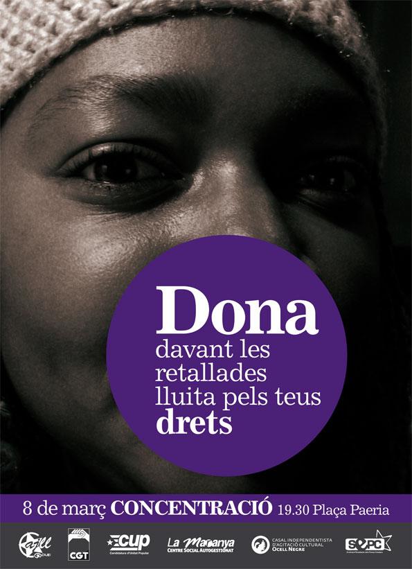 Cartell Lleida Dona