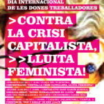cartell 8 març Girona