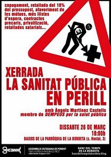 xerrada la sanitat pública en perill