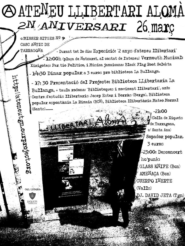 cartell 2n aniversari