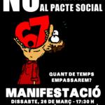 cartell mani 26 març