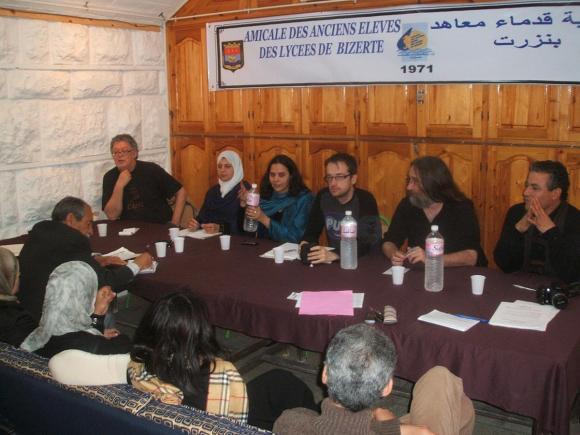 trobada-debat amb el comitè de Bizerta
