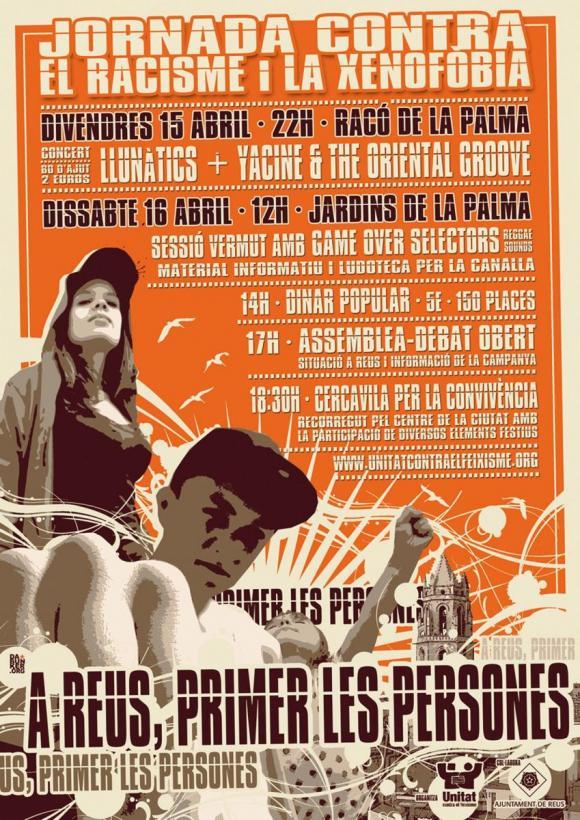 cartell jornada Reus