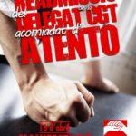 readmissió delegat de la CGT a Atento Lleida
