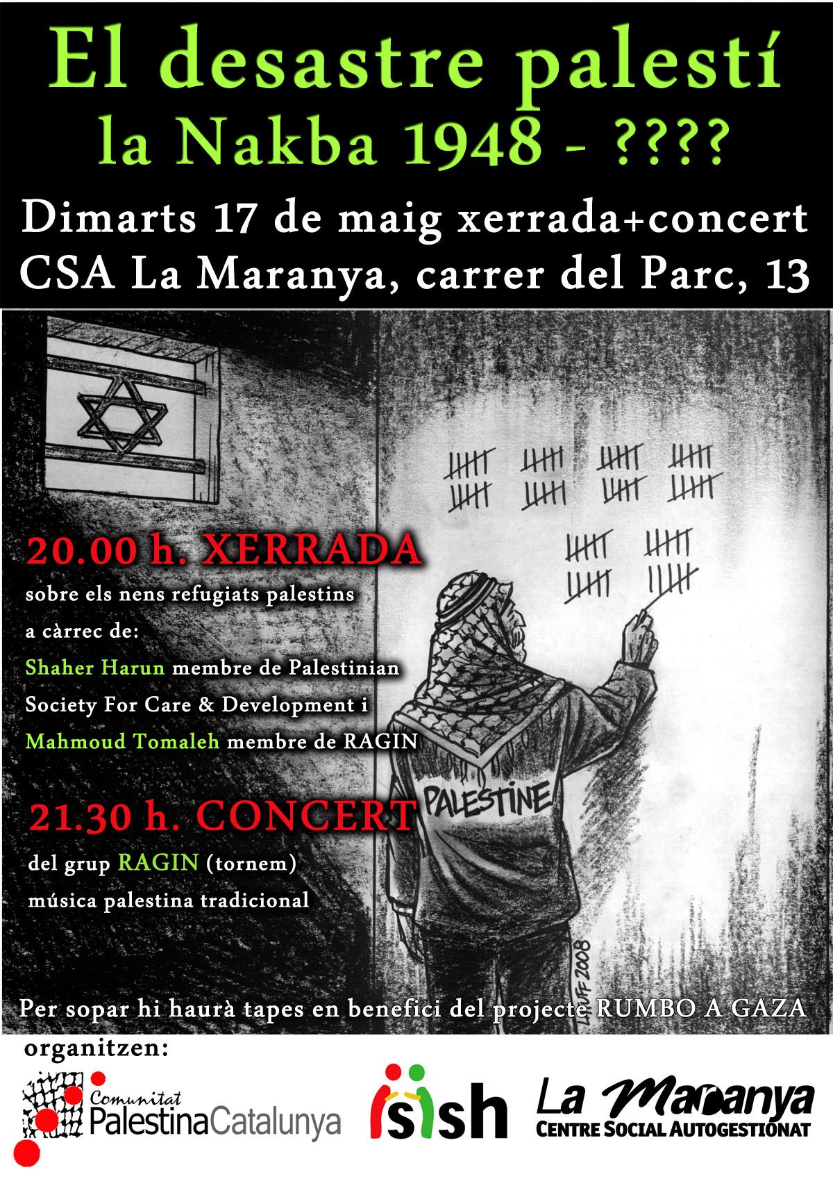 cartell Nakba 2011