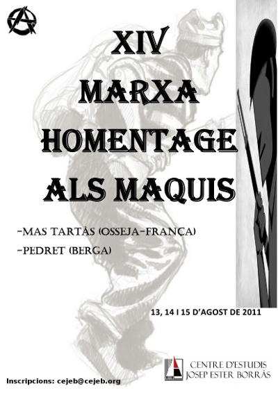 Cartell Marxa Maquis