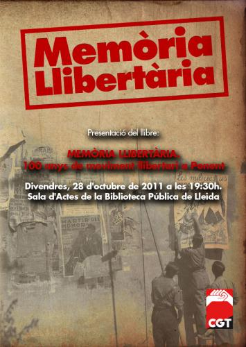 Memoria Llibertaria Lleida