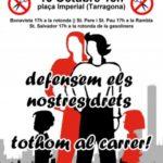 cartell Tarragona 15oct 2
