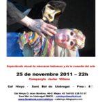Cartell obra teatre 25 novembre