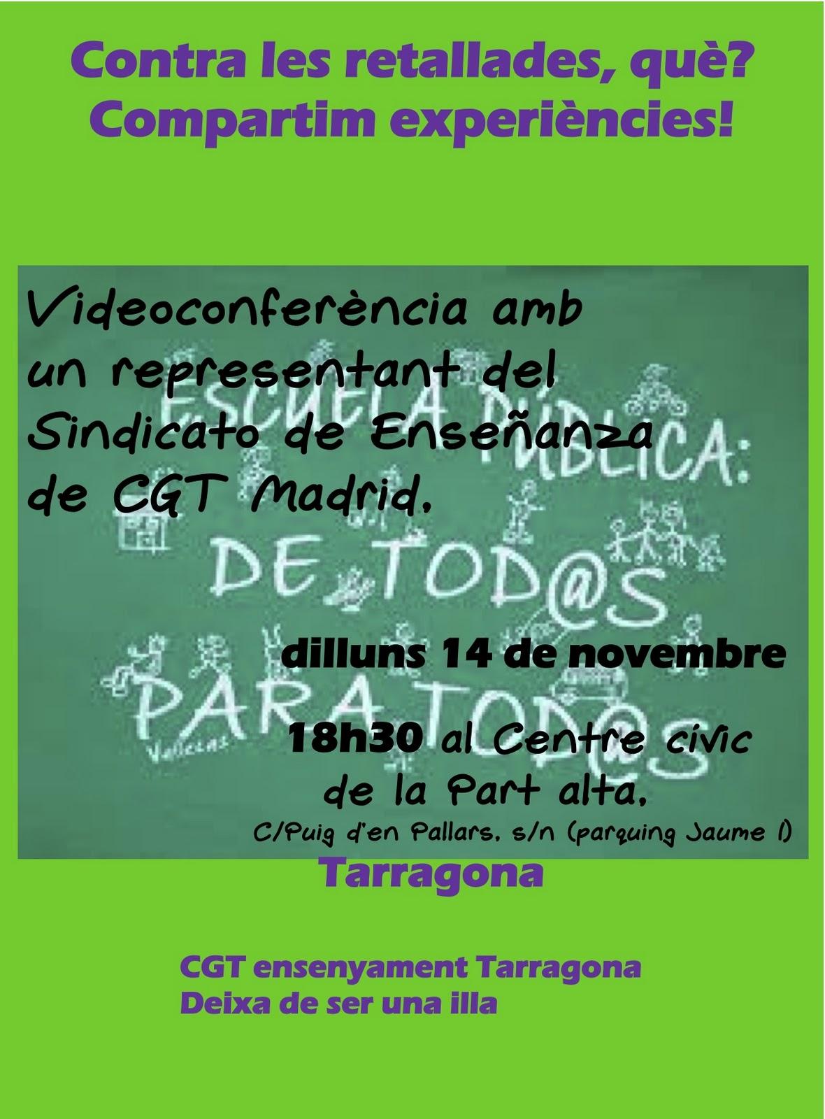 cartell videoconferencia