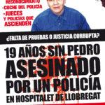 Cartell manifestació 19-años-sin-Pedro-asesinado-por-un-policia-en-hospitalet