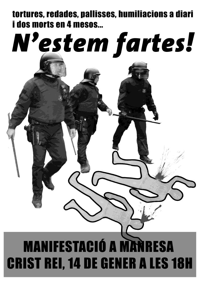 cartell mani Manresa
