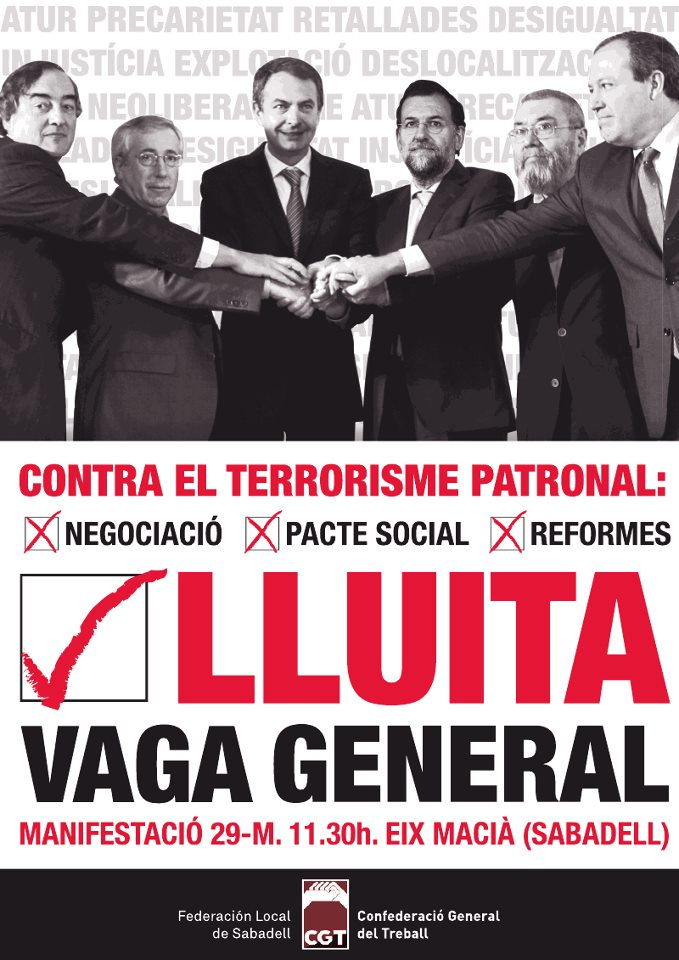 29m cgt sabadell cartell