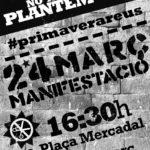 Manifestació 24M Reus